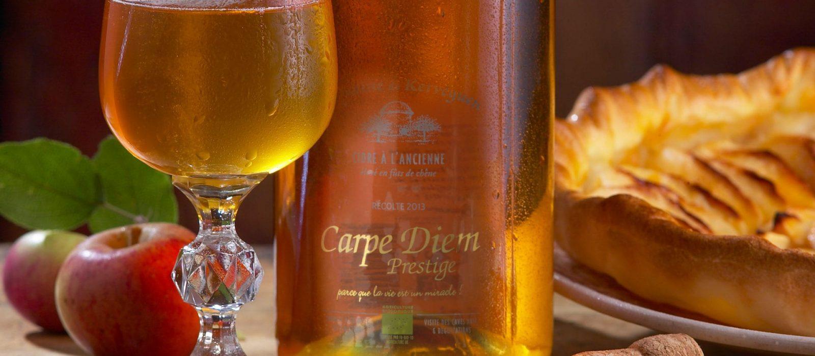 Cidre Bio Breton Carpe Diem Kerveguen
